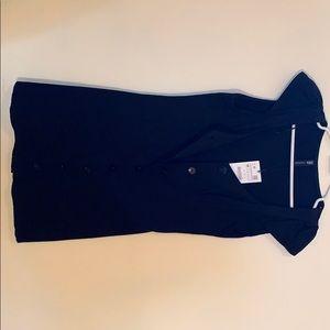 Zara button up dress